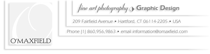 Studio O'Maxfield | Fine Art Photography | Graphic Design