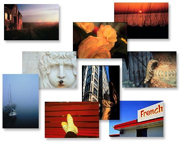 Montage of stock photographs
